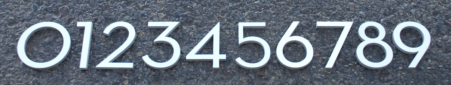 Mad for MidCentury MidCentury Modern Address Numbers