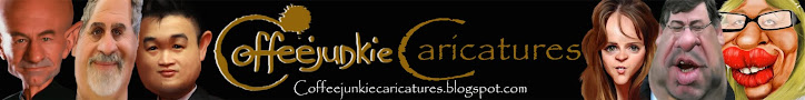 coffeejunkie caricatures