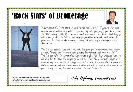 free motivational wall chart for commercial real estate brokers