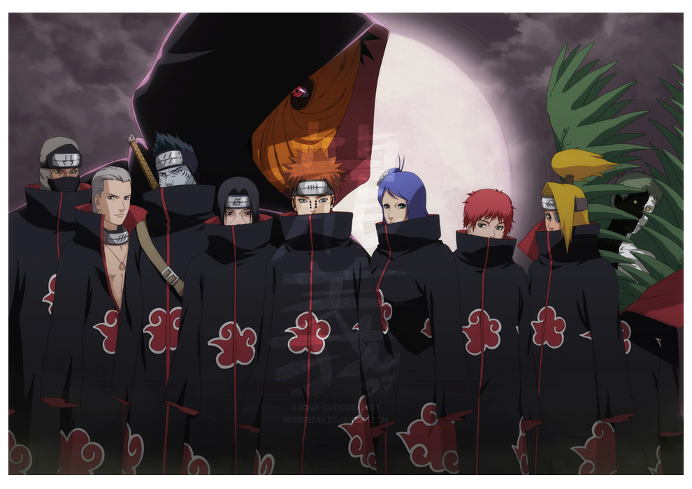 Okay? The one who have most votes will. Jiraiya