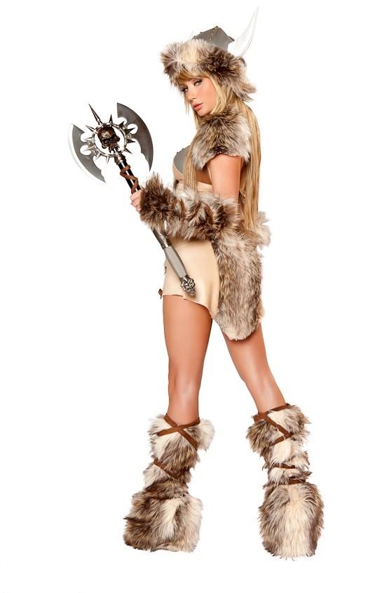 Sara Jean Underwood as a viking, photo from J. Valentine 2012 catalog