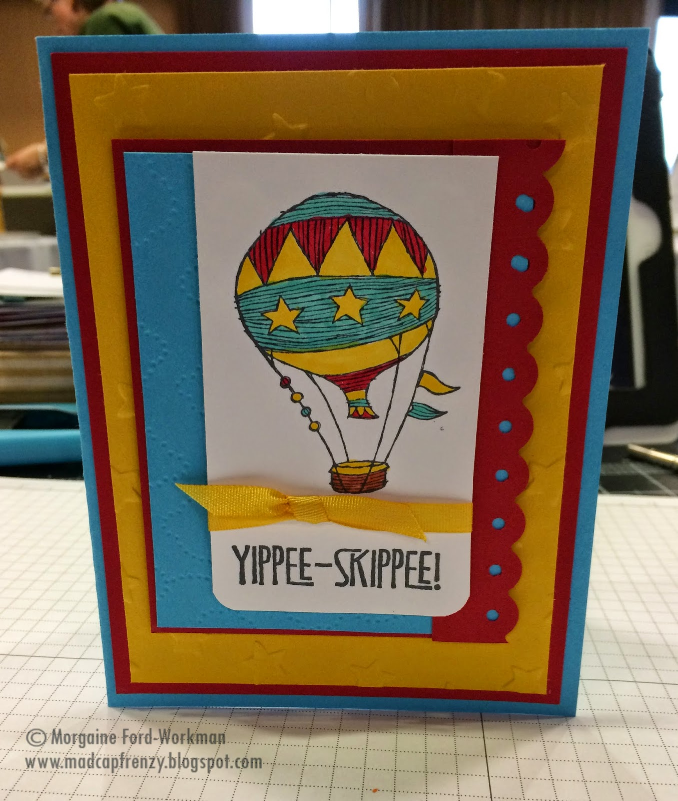Madcap Frenzy Yippee Skippe hooray retirement card