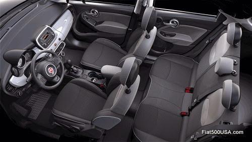 Fiat 500X Pop Interior