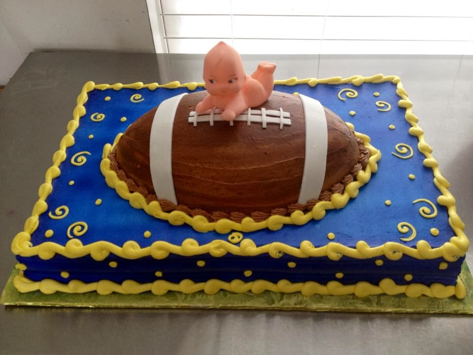 Football Themed Baby Shower