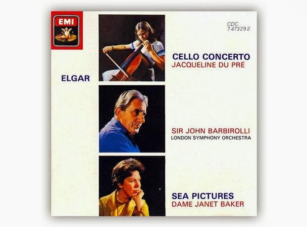 Elgar Cello Concerto Jacqueline du Pre Sir John Barbirolli London Symphony Orchestra