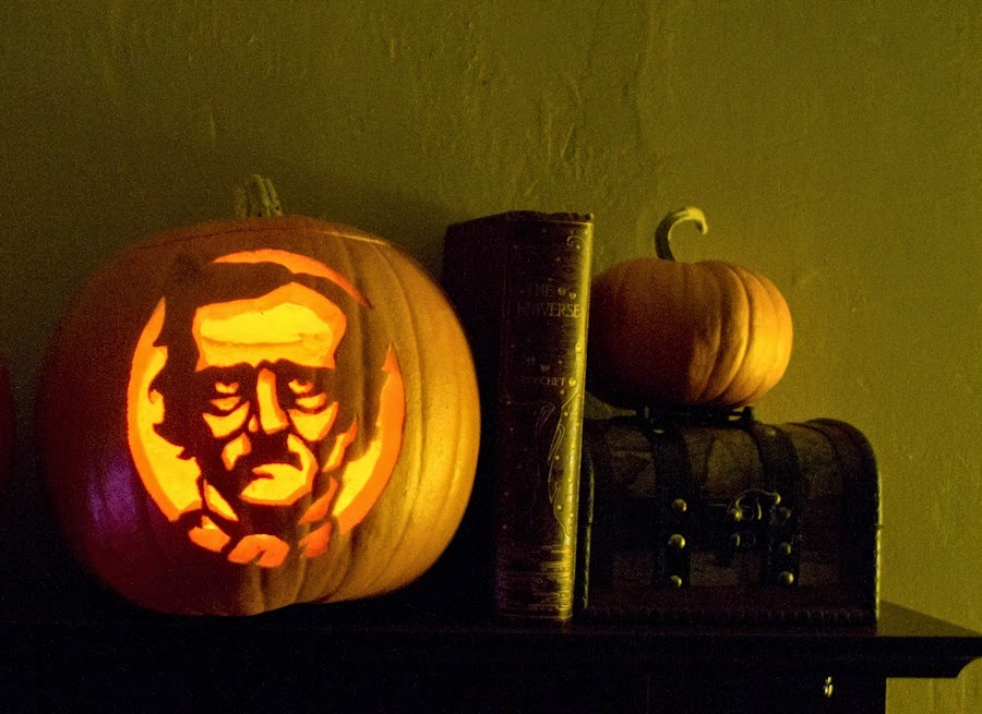 Edgar Allen Poe Pumpkin Carving