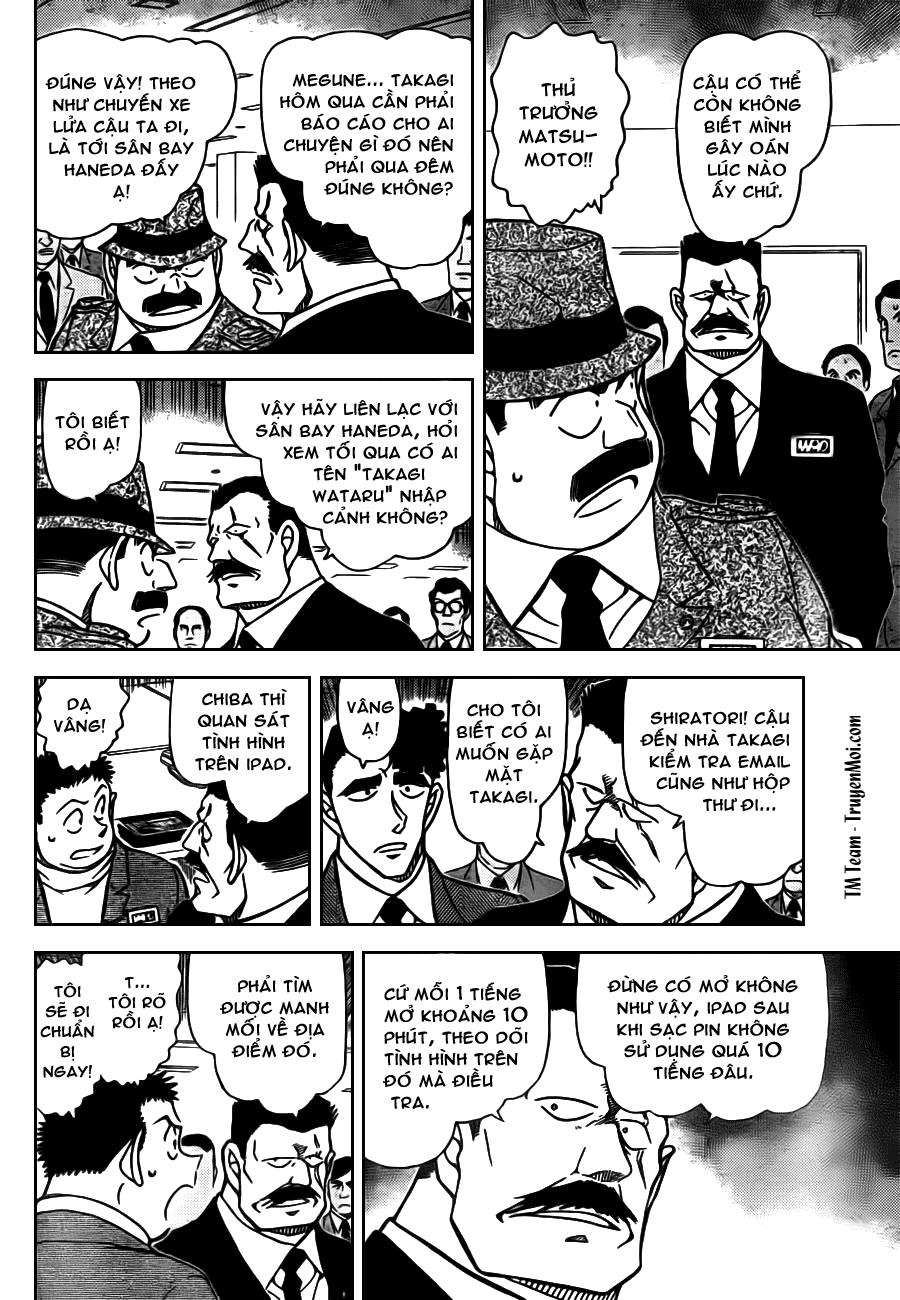 Thám Tử Lừng Danh Conan - Chapter 805 - Pic 6