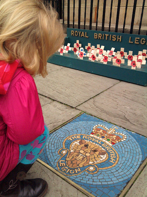 Armistice Day Royal British Legion 11th November 2011