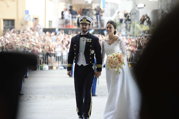 Prince Carl Philip and Princess Sofia (yes, Princess Sofia!, Royal title is now HRH Princess Sofia, Duchess of Värmland).
