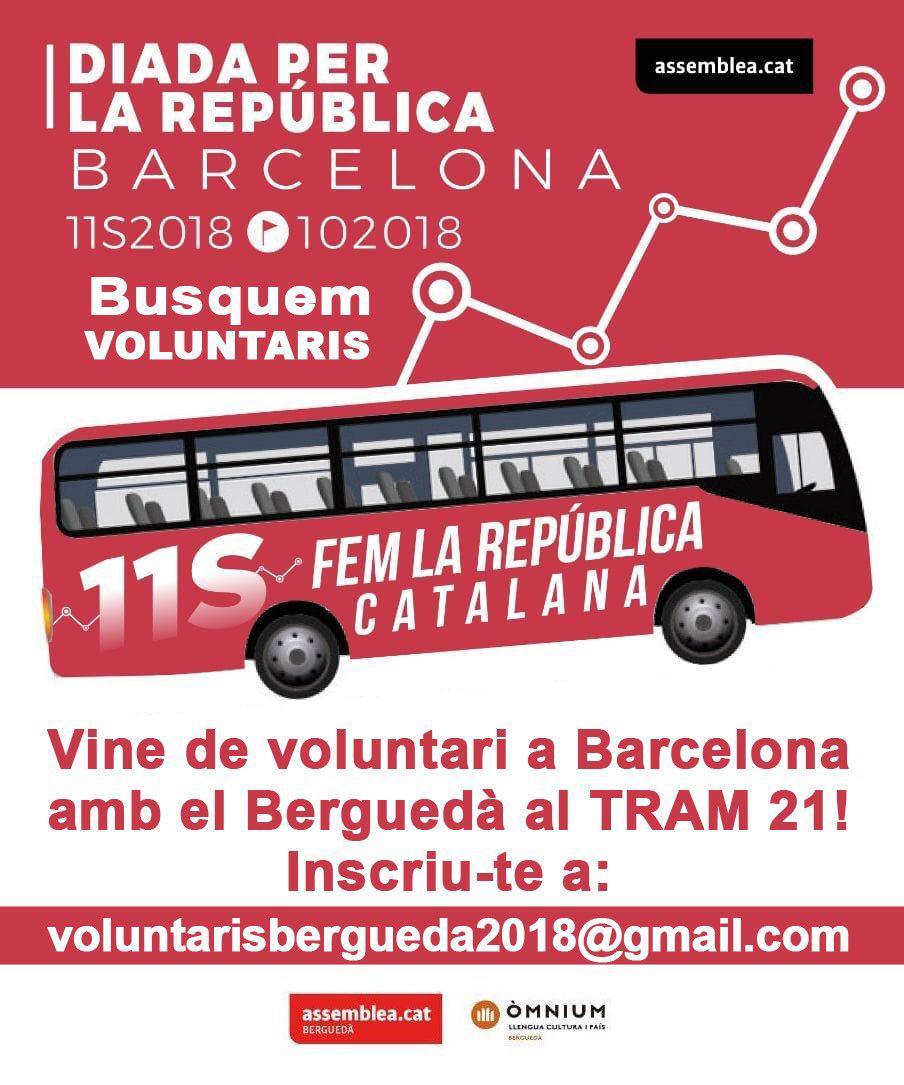 Vine de voluntari al nostre Tram!