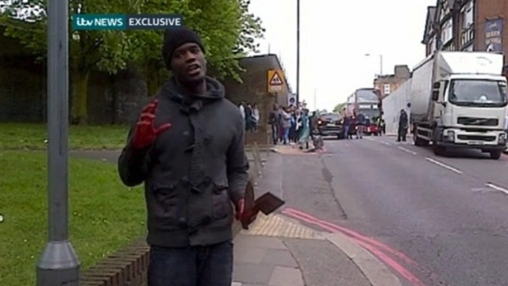 woolwich terrorist attack pictures