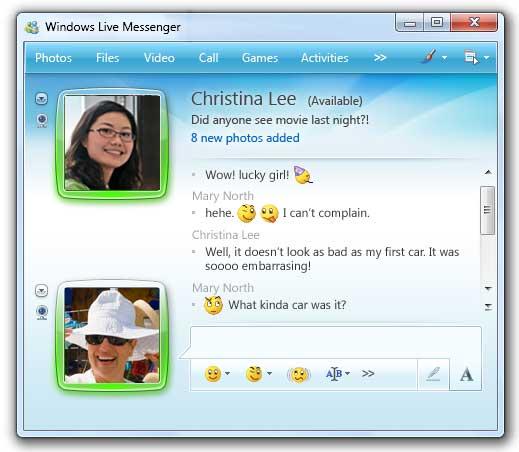 hotmail messenger