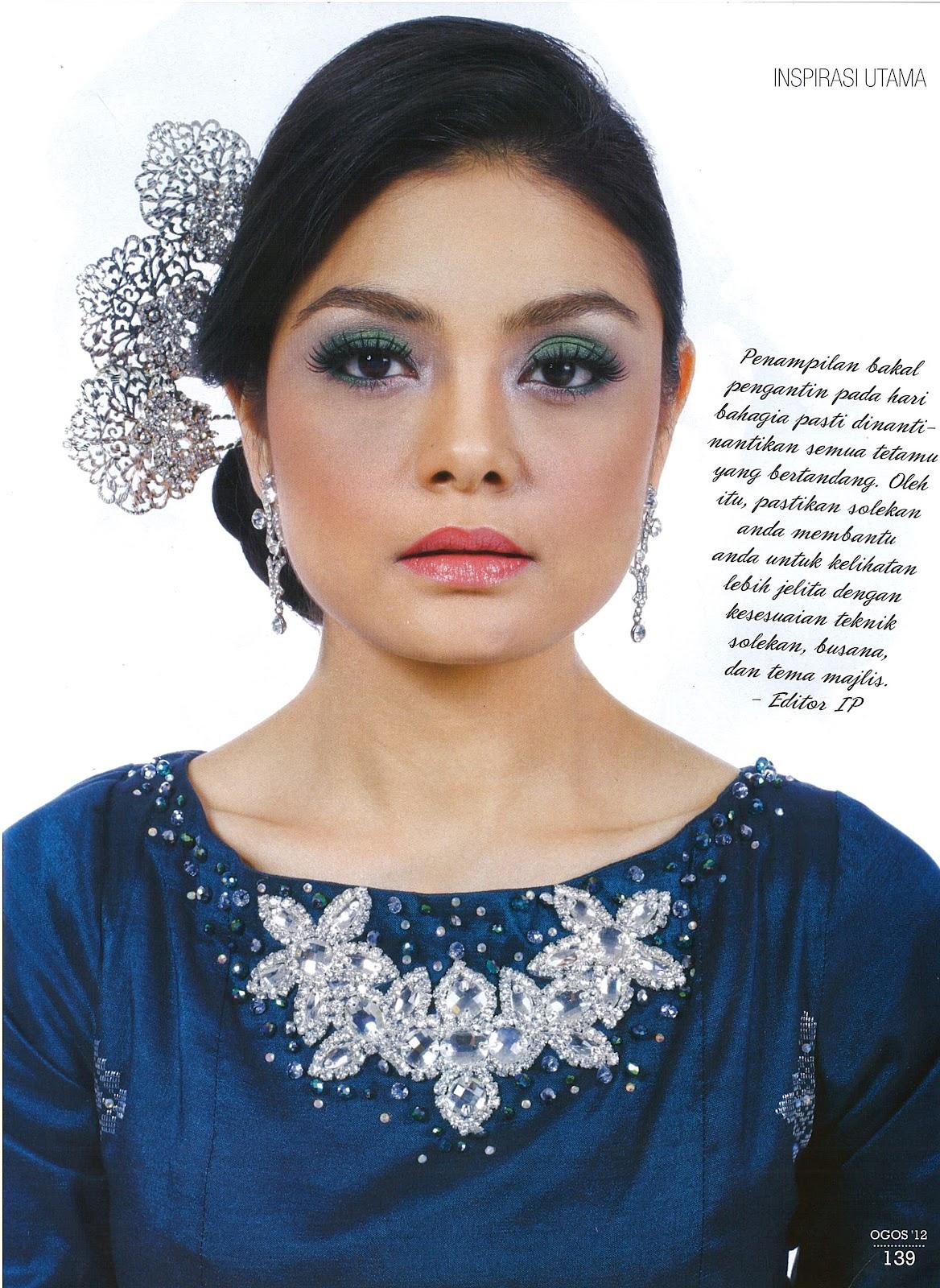 Paparan di Majalah Inspirasi Perkahwinan Isu Ogos 2012