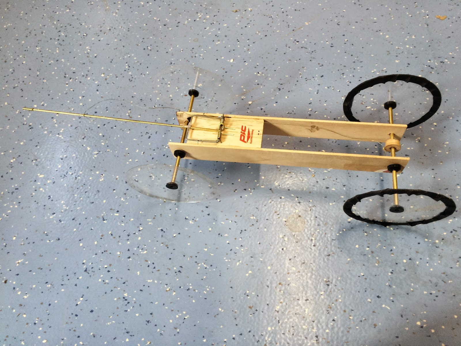 Layton S Physics Class Pb Mousetrap Car Report