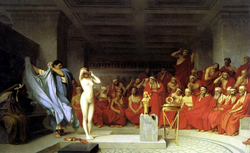 D.W.C. Captive Market - Painter Jean-Léon Gérôme