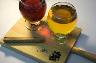 Zumo de manzana con canela e hidromiel - ingredientes