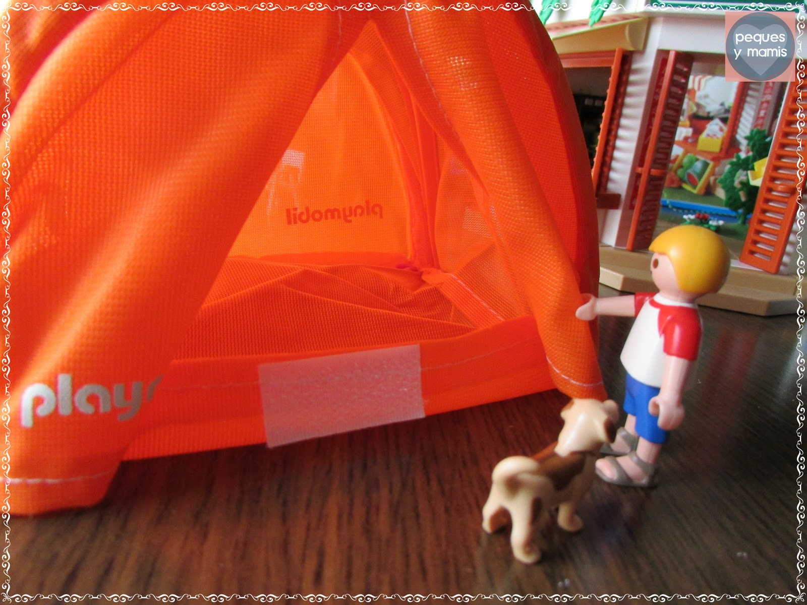 Pequesymamis campamento summer fun de playmobil - Playmobil piscina ballena ...