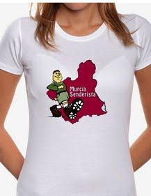 Camisetas con el Logo de Murcia Senderista