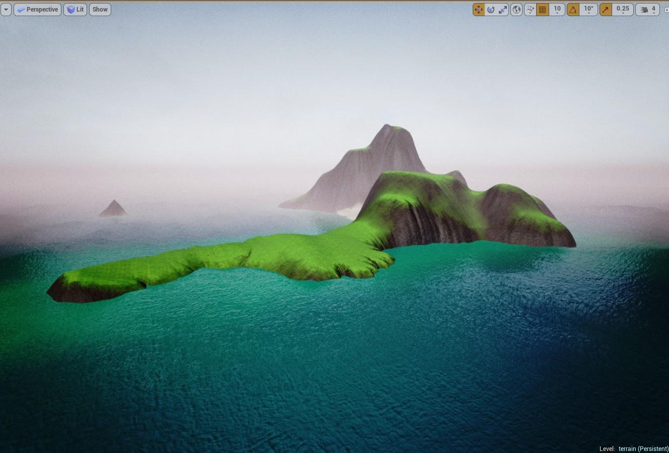 Island landscape result 3