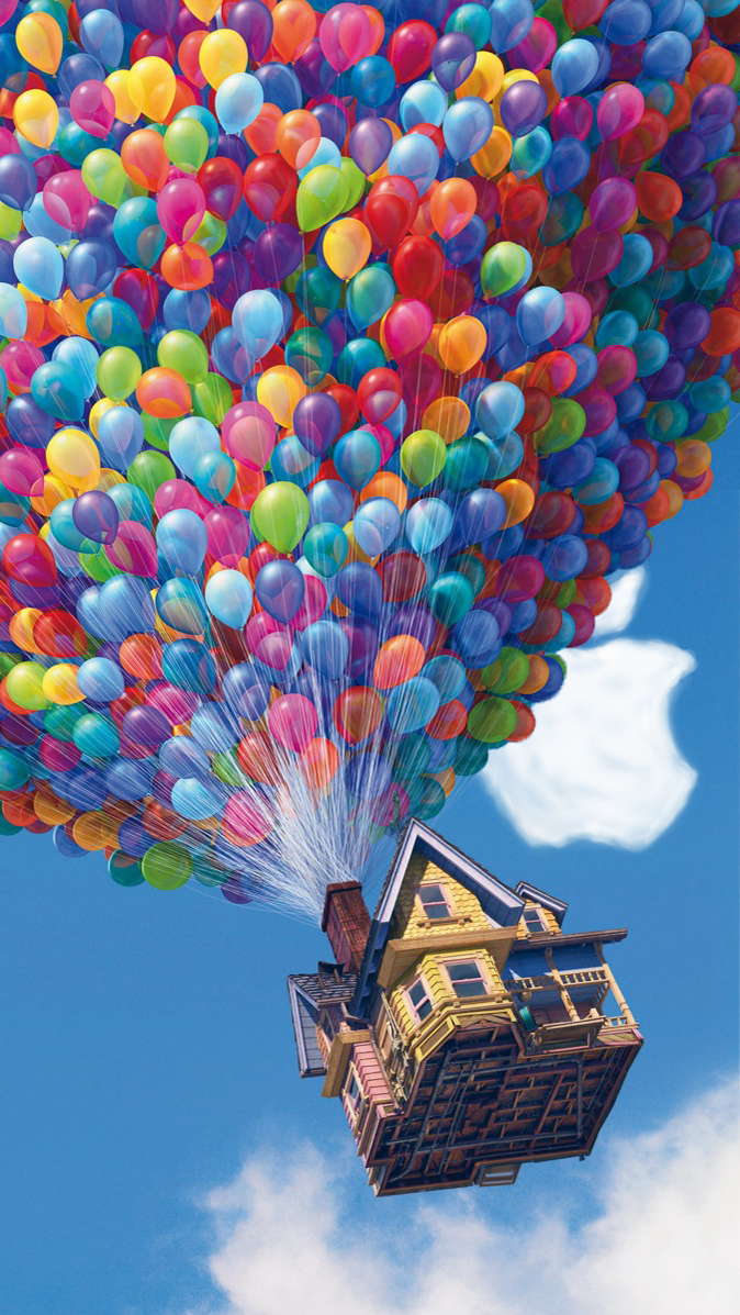 iPhone 5 Pixar UP Wallpaper