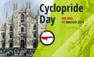 Domenica 11  maggio : Cyclopride Day e Bimbinbici