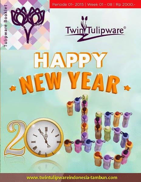 Booklet - Katalog Twin Tulipware Januari - Februari 2015 | Tahun Baru 2015