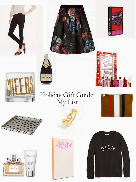 Holiday Gift Guide For Me