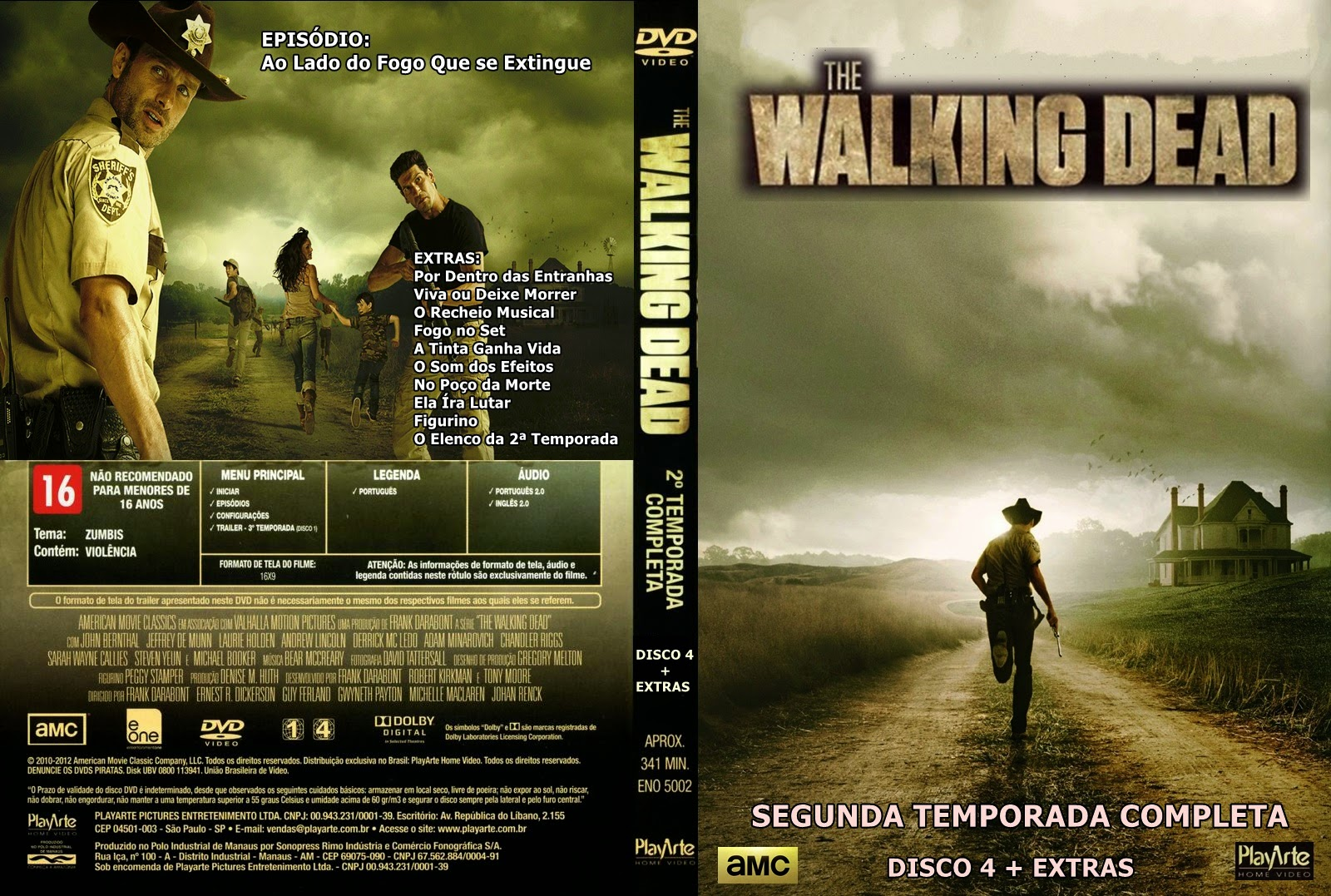 Dvd r the walking dead 2 temporada / Sabrina the teenage witch last ...