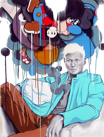 Hatziel Art Artshow Painting Contemporary