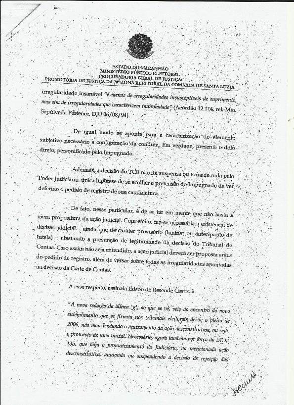 O MPE Entra com Ação de Impugnação da Candidatura de Fufuca