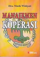 toko buku rahma: buku MANAJEMEN KOPERASI,pengarang ninik widiyati, penerbit rineka cipta