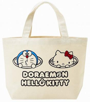 doraemon dan hello kitty
