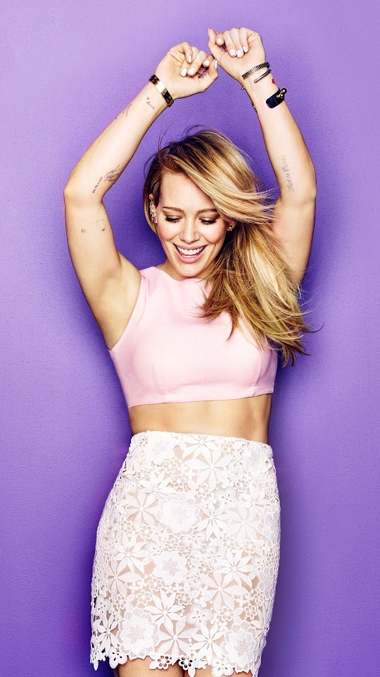 Hilary Duff Gorgeous Galaxy Note HD Wallpaper