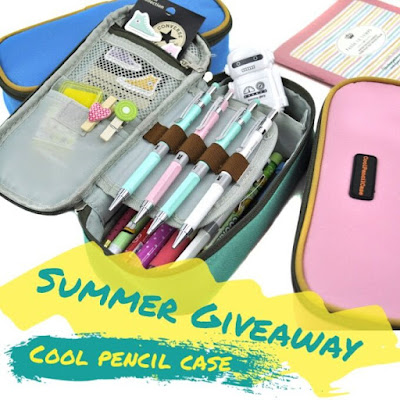cool pencil case giveaway