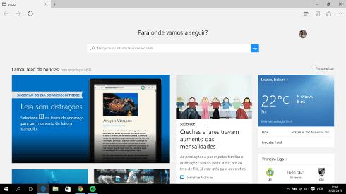 O que é o Microsoft Edge