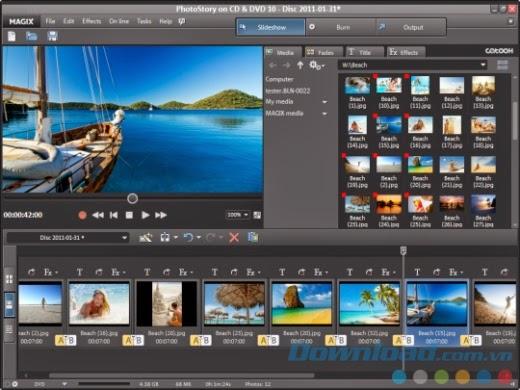 Magix PhotoStory Easy full crack - Phần mềm tạo slideshow ảnh chuyên nghiệp