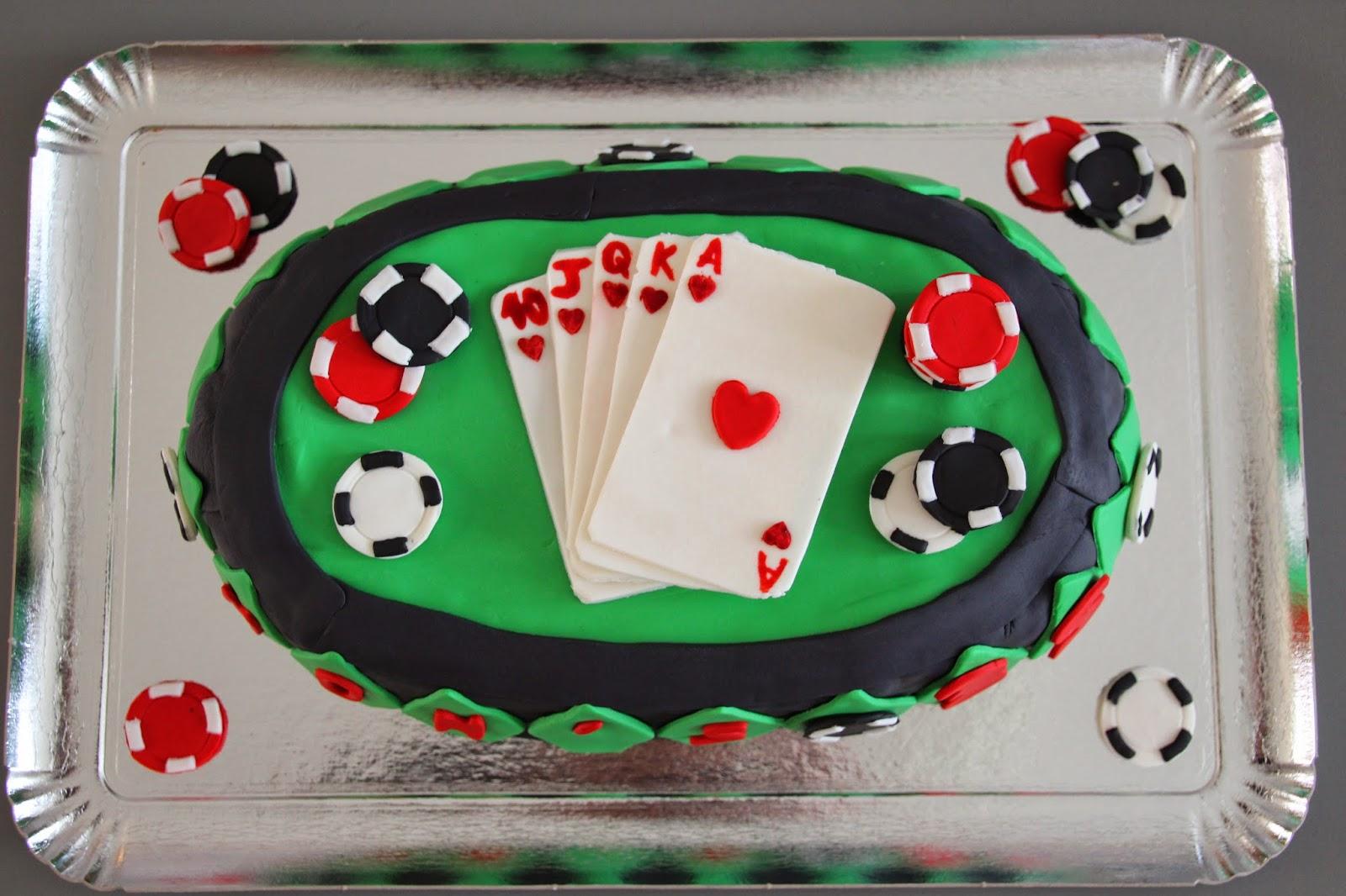 poker jeu de cartes jetons g teaux by lilmia. Black Bedroom Furniture Sets. Home Design Ideas