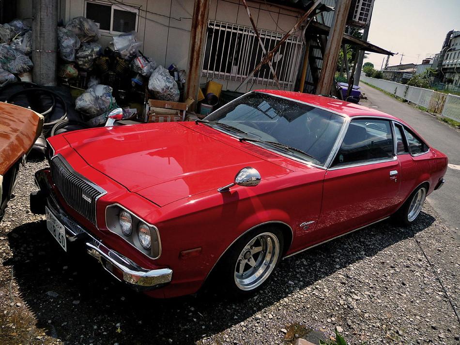 Mazda Cosmo AP, japoński klasy, samochód z duszą, fotki, zdjęcia, stare