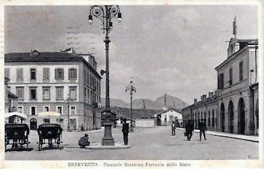 Stazione Centrale e Palazzo Alberti