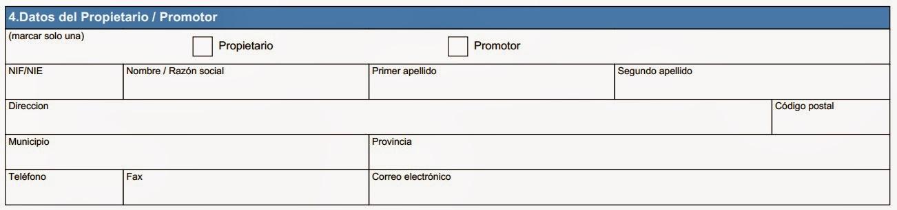 Registro certificado energético Aragón - Apartado 4 Anexo II