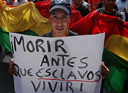 Esclavitud en Bolivia