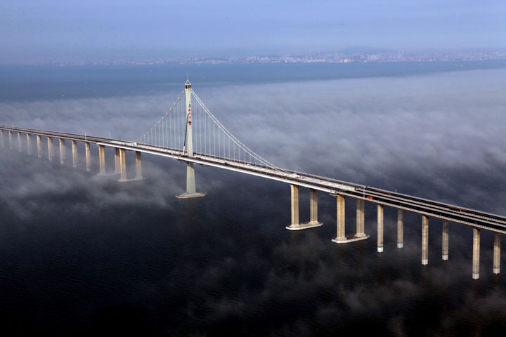 China-has-built-the-world 27s-longest over-water-bridge jpgLongest Bridge In The World Over Water