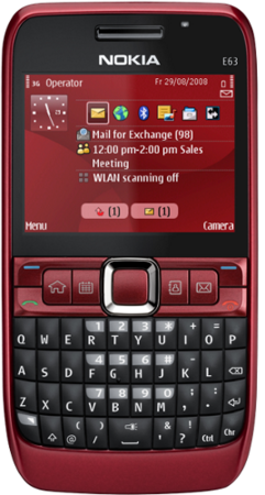 Spesifikasi dan Harga Nokia e63 2014 Terbaru