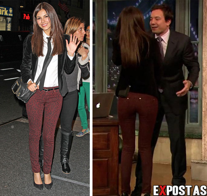 Victoria Justice: Late Night with Jimmy Fallon - New York City - 23 de Outubro de 2012