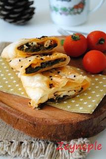 Peynirli Ve Ispanaklı Börek