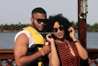 Juliet Ibrahim and husband