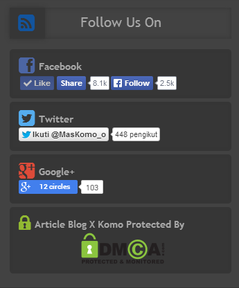 Tutorial Membuat Widget Melayang Ketika di Scroll Kebawah - Sticky Widget Sidebar di Blogspot/Blogger