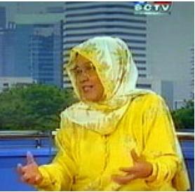 Direktur Lembaga Pengkajian Pangan, Obat-obatan, dan Kosmetika MUI Prof Dr Aisyah Girindra
