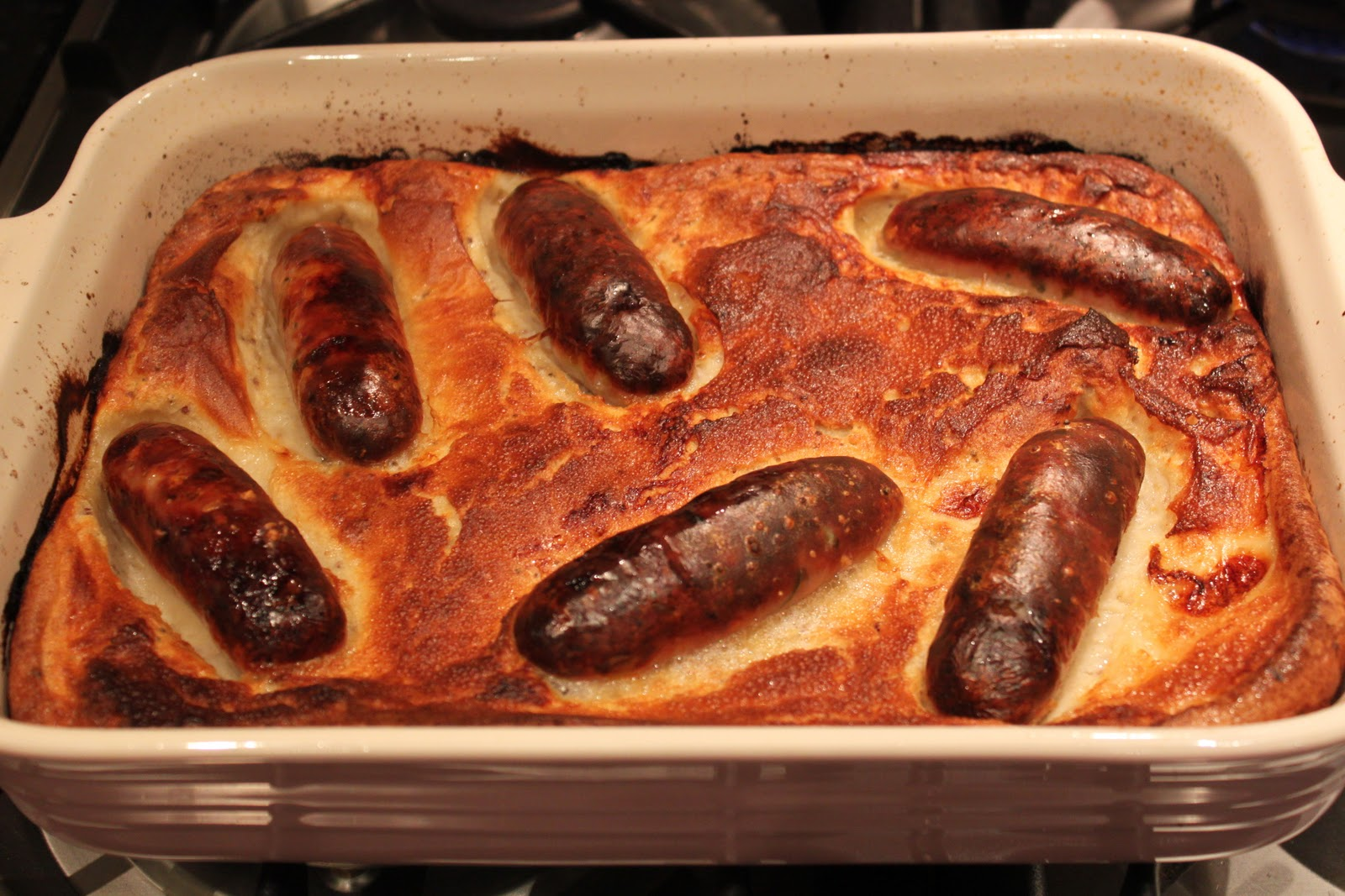 Dine at Mine: Toad in the Hole with Dark Onion Gravy
