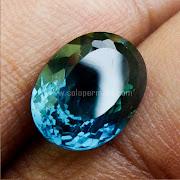 Batu Permata London Blue Topaz - SP912